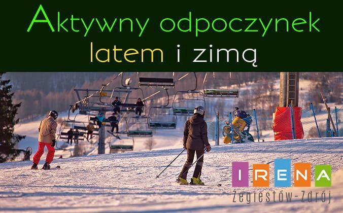 pobliska Stacja narciarska DWIE DOLINY