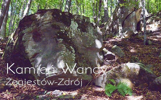 Kamień Wandy - Żegiestów